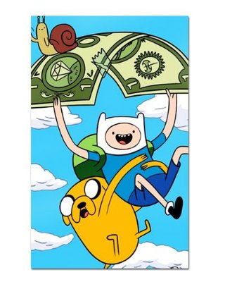 Ímã Decorativo Finn e Jake - Adventure Time - IAT007