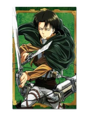 Ímã Decorativo Levi Attack on Titan - Shingeki no Kyojin - IANSK001