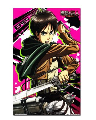 Ímã Decorativo Eren Attack on Titan - Shingeki no Kyojin - IANSK002