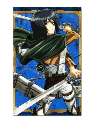 Ímã Decorativo Mikasa Attack on Titan - Shingeki no Kyojin - IANSK007