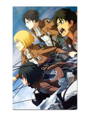 Ímã Decorativo Attack on Titan - Shingeki no Kyojin - IANSK008