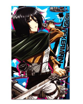 Ímã Decorativo Mikasa Attack on Titan - Shingeki no Kyojin - IANSK016