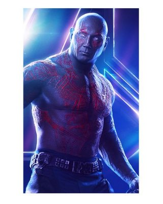 Ímã Decorativo Drax - Avengers Infinity War - IMAVI06