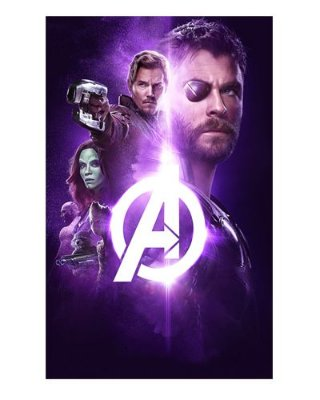 Ímã Decorativo Avengers Infinity War - IMAVI23