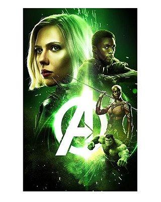 Ímã Decorativo Avengers Infinity War - IMAVI27