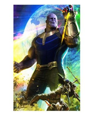 Ímã Decorativo Thanos - Avengers Infinity War - IMAVI29