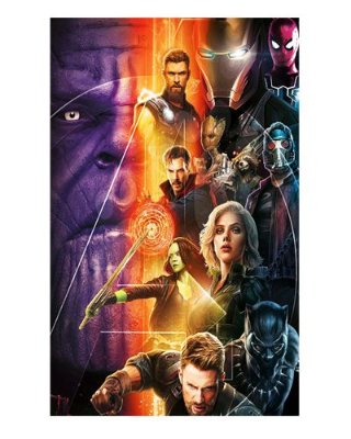 Ímã Decorativo Avengers Infinity War - IMAVI30
