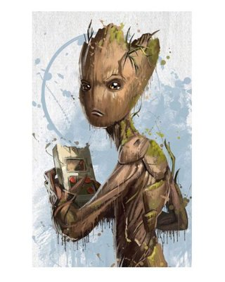 Ímã Decorativo Groot - Vingadores Guerra Infinita - IMAVI41
