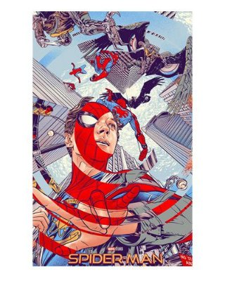 Ímã Decorativo Spider-Man - Homecoming - IMSMH12