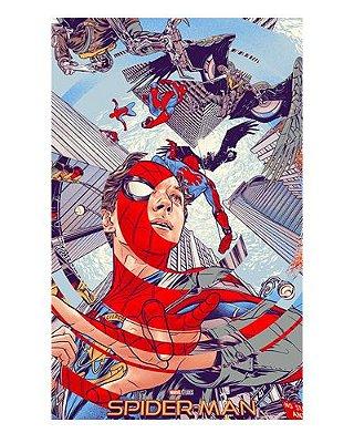 Ímã Decorativo Spider-Man - Homecoming - IMSMH12