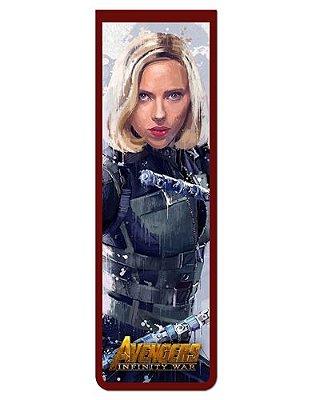 Marcador De Página Magnético Black Widow - Avengers - MAVI07