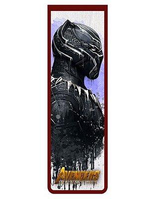 Marcador De Página Magnético Black Panther - Avengers - MAVI11