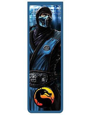Marcador De Página Magnético Sub-Zero - Mortal Kombat - MMK01