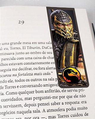 Marcador De Página Magnético Scorpion - Mortal Kombat - MMK06