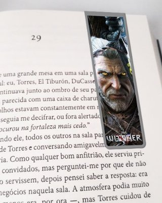 Marcador De Página Magnético Geralt - The Witcher - MTW02