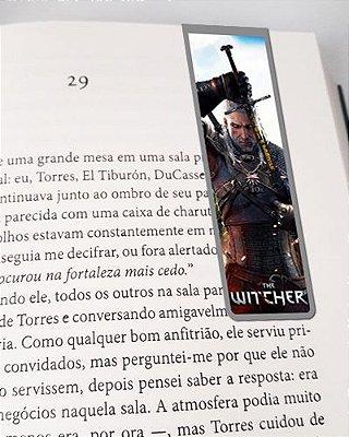 Marcador De Página Magnético Geralt - The Witcher - MTW04