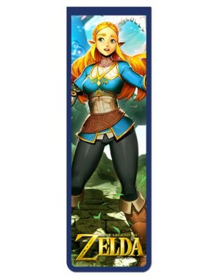 Marcador De Página Magnético Zelda - The Legend of Zelda - MGLZ13