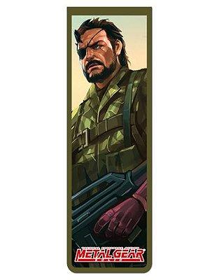 Marcador De Página Magnético Naked Snake - Metal Gear - MMG01