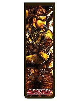 Marcador De Página Magnético Solid Snake - Metal Gear - MMG08