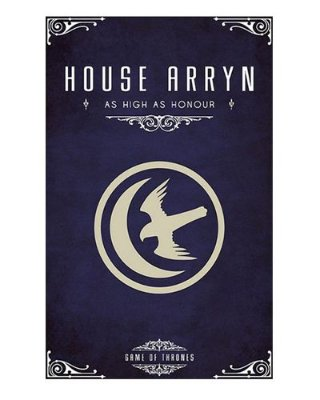 Ímã Decorativo House Arryn - Game of Thrones - IGOT37