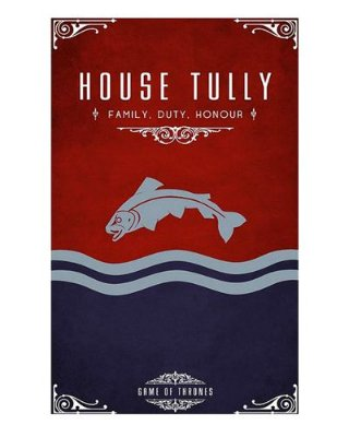 Ímã Decorativo House Tully - Game of Thrones - IGOT38
