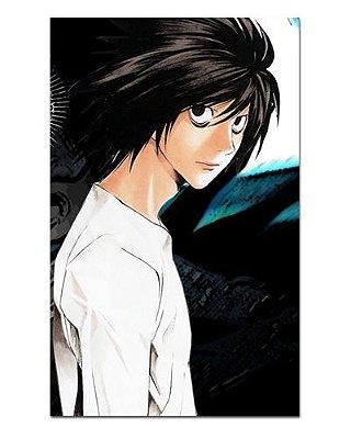 Ímã Decorativo Ryuzaki - Death Note - IDN09