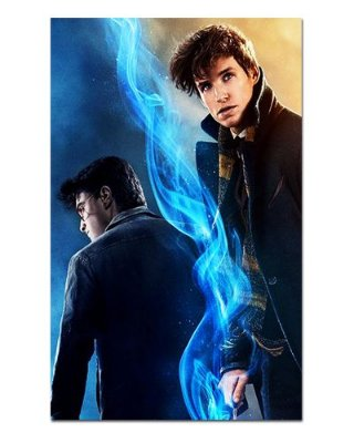 Ímã Decorativo Newt Scamander - Harry Potter - IHP07