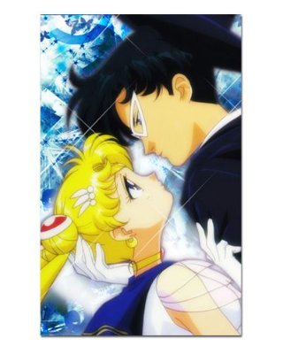 Ímã Decorativo Sailor Moon e Tuxedo Mask - ISM28