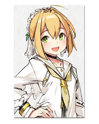 Ímã Decorativo Saber Bride Fate/Grand Order - IFS15