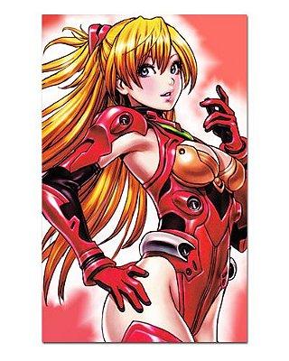 Ímã Decorativo Asuka - Neon Genesis Evangelion - IEVA09