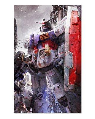 Ímã Decorativo Mobile Suit Gundam - IGU08
