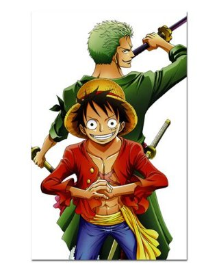 Ímã Decorativo Luffy e Zoro - One Piece - IOP18