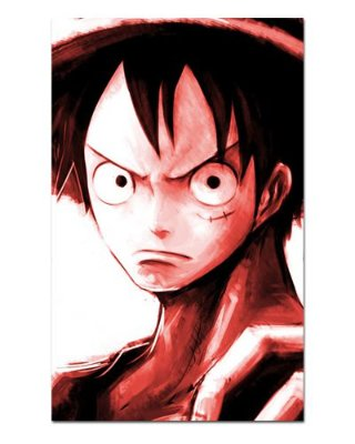 Ímã Decorativo Monkey D. Luffy - One Piece - IOP20