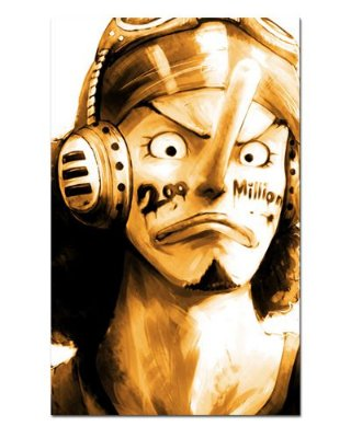 Ímã Decorativo Usopp - One Piece - IOP22