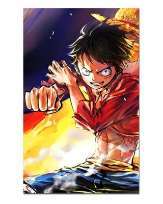 Ímã Decorativo Monkey D. Luffy - One Piece - IOP26