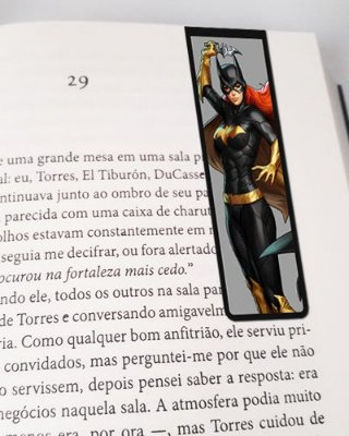 Marcador De Página Magnético Batgirl Arkham Knight - MDC04