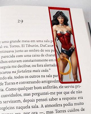 Marcador De Página Magnético Wonder Woman New 52 - MDC09