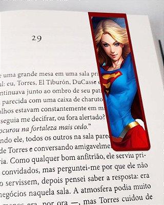 Marcador De Página Magnético Supergirl - MDC21