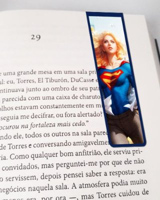 Marcador De Página Magnético Supergirl - MDC25