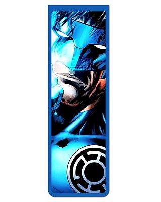 Marcador De Página Magnético Lanterna Azul - MDC96