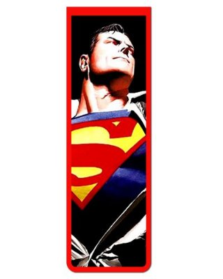 Marcador De Página Magnético Superman - MDC100