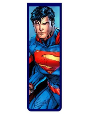 Marcador De Página Magnético Superman New 52 - MDC103