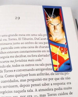 Marcador De Página Magnético Superman - MDC104