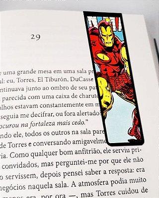 Marcador De Página Magnético Iron Man - MMA27