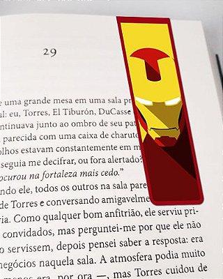 Marcador De Página Magnético Iron Man - MMA32