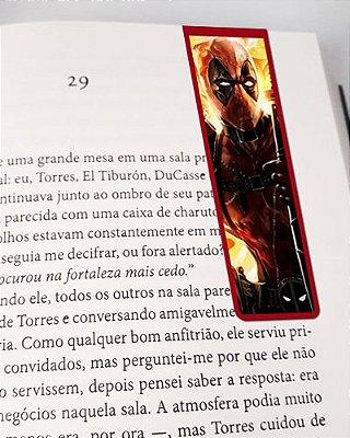 Marcador De Página Magnético Deadpool - MMA33