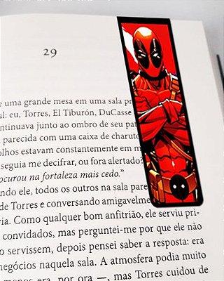 Marcador De Página Magnético Deadpool - MMA34