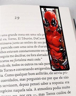 Marcador De Página Magnético Deadpool - MMA37