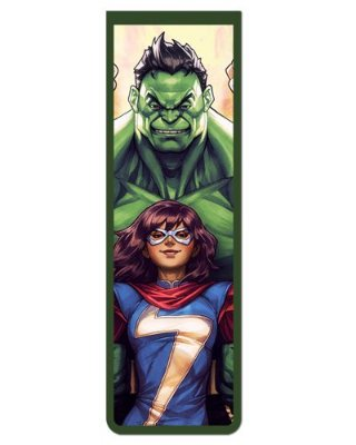 Marcador De Página Magnético Hulk e Miss Marvel - MMA59