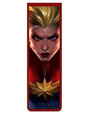 Marcador De Página Magnético Capitã Marvel - MMA75